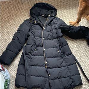 J. Crew black puffer jacket